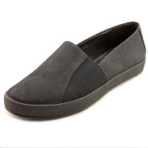 Eileen Fisher Chase Metallic Leather Slip-Ons Flat